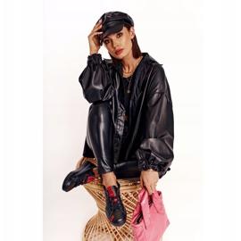Women's Leather Sneakers Big Star EE274303 Black 2