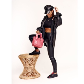 Women's Leather Sneakers Big Star EE274303 Black 10