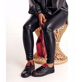 Women's Leather Sneakers Big Star EE274303 Black 7