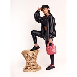Women's Leather Sneakers Big Star EE274303 Black 8