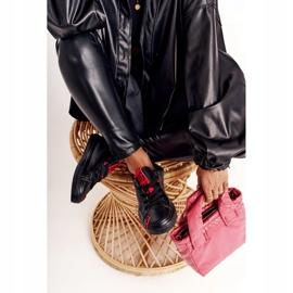 Women's Leather Sneakers Big Star EE274303 Black 5