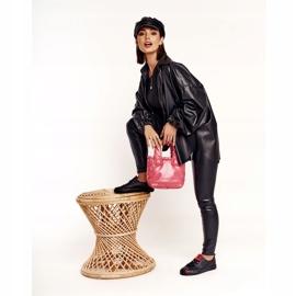 Women's Leather Sneakers Big Star EE274303 Black 9