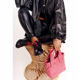 Women's Leather Sneakers Big Star EE274303 Black 3