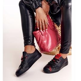 Women's Leather Sneakers Big Star EE274303 Black 6