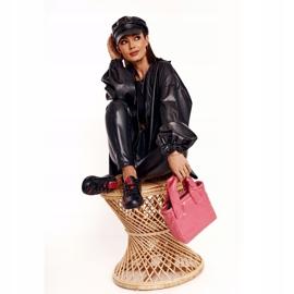 Women's Leather Sneakers Big Star EE274303 Black 11