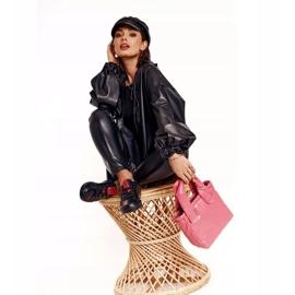 Women's Leather Sneakers Big Star EE274303 Black 1