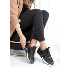 Black VL118P Black sports shoes 3