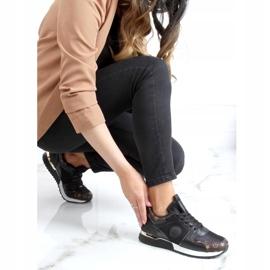 Black VL118P Black sports shoes 4