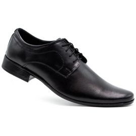 Lukas 447 black men's formal shoes 2