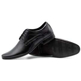 Lukas 447 black men's formal shoes 4