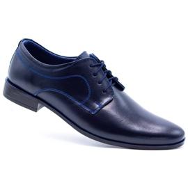 Lukas Men's formal shoes 447 navy blue 2