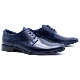Lukas Men's formal shoes 447 navy blue 3