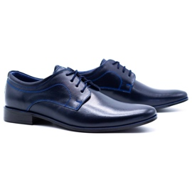 Lukas Men's formal shoes 447 navy blue 8