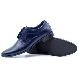 Lukas Men's formal shoes 447 navy blue 4