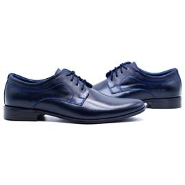 Lukas Men's formal shoes 447 navy blue 6