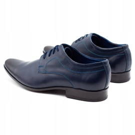 Lukas Men's formal shoes 447 navy blue 12