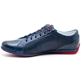 Joker Men's casual shoes 295J navy blue 1