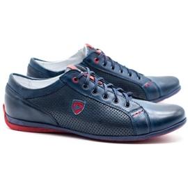 Joker Men's casual shoes 295J navy blue 2