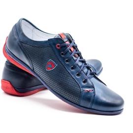 Joker Men's casual shoes 295J navy blue 4