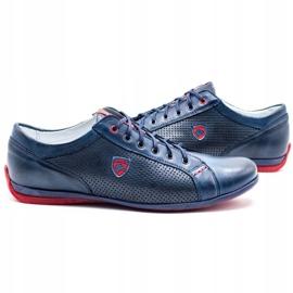 Joker Men's casual shoes 295J navy blue 5