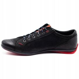 Joker Black casual men's shoes 295J 1
