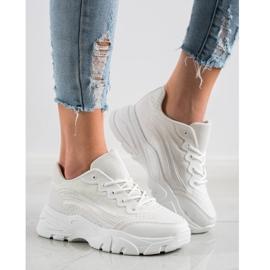 SHELOVET White Sneakers 2