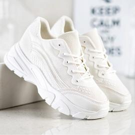 SHELOVET White Sneakers 3