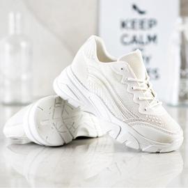 SHELOVET White Sneakers 4
