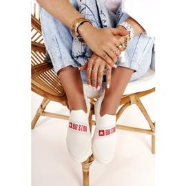 Women's Sneakers Slip-on Big Star FF274219 White 5