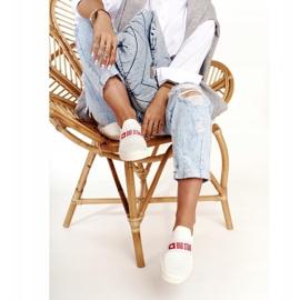 Women's Sneakers Slip-on Big Star FF274219 White 3