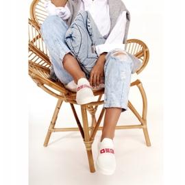 Women's Sneakers Slip-on Big Star FF274219 White 4