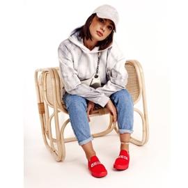 Women's Sneakers Slip-on Big Star FF274220 Red 2