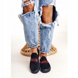 Women's Sneakers Slip-on Big Star FF274221 Black 2