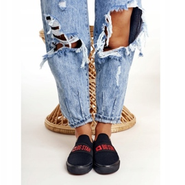 Women's Sneakers Slip-on Big Star FF274221 Black 3