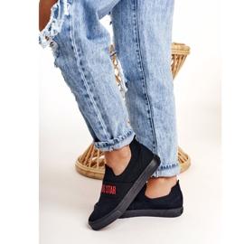 Women's Sneakers Slip-on Big Star FF274221 Black 4