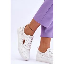 Women's Lace Sneakers Big Star W274925 White 7