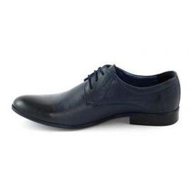 TAPI Men's elegant shoes 4536 navy blue 1