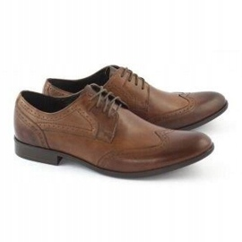 TAPI Men's formal shoes 5651 brown 2