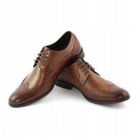 TAPI Men's formal shoes 5651 brown 3