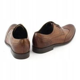 TAPI Men's formal shoes 5651 brown 4