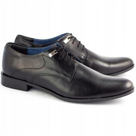 Formal men's shoes 090 black 2