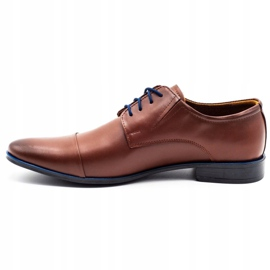 Lukas Men's formal shoes 286 brown 1