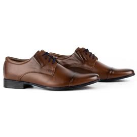Lukas Men's formal shoes 286 brown 3