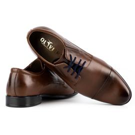 Lukas Men's formal shoes 286 brown 5