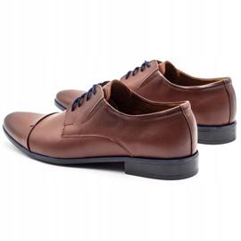 Lukas Men's formal shoes 286 brown 7