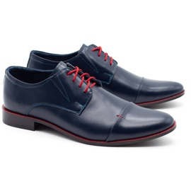 Lukas Men's formal shoes 286 navy blue 2