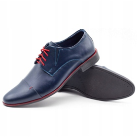 Lukas Men's formal shoes 286 navy blue 3