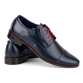Lukas Men's formal shoes 286 navy blue 4