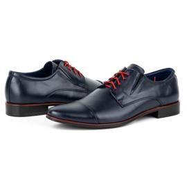 Lukas Men's formal shoes 286 navy blue 5