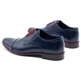 Lukas Men's formal shoes 286 navy blue 7